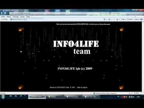 Piratage en direct avec INFO4LIFE TEAM [ Annaba , Algeria ]