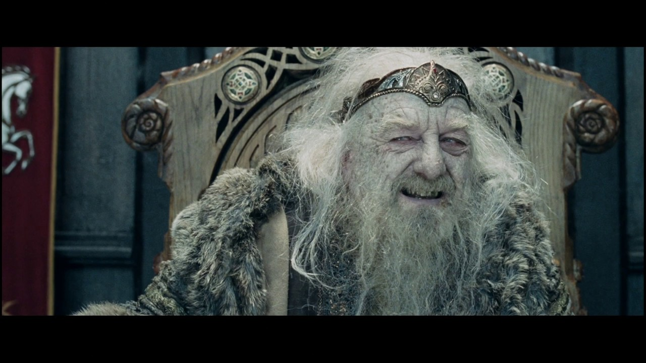 Download LOTR The Two Towers - Gandalf heals Theoden Part 1