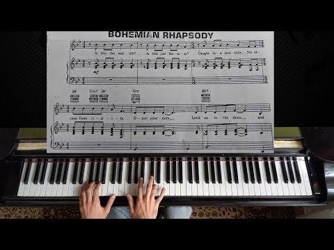 Queen - Bohemian Rhapsody | Piano Tutorial (with Sheet Music) thumbnail