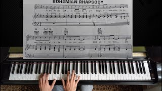 """As requested here is the piano tutorial with sheet music for queen - """"bohemian rhapsody""""! hope it`s helpful and enjoy! :)more tutorials: https://www.yo..."""