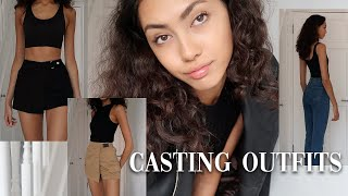 MODELLING CASTING OUTFIT IDEAS- TRY ON, STYLED & AFFORDABLE | Morgan Fernandez