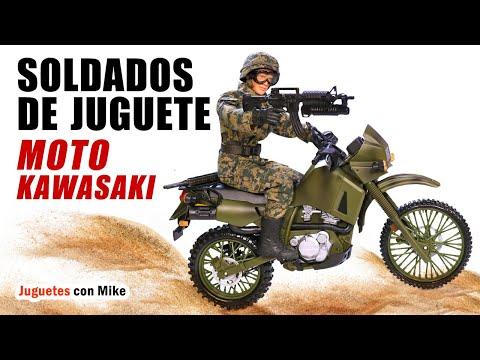 SOLDADOS DE JUGUETE MOTO KAWASAKI | World Peacekeepers Toys en español