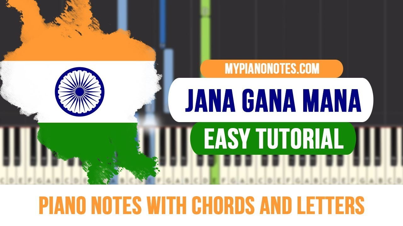 Jana Gana Mana Piano Notes With Chords Easy Tutorial For Beginners Collection by bhupendra mehta • last updated 20 hours ago. jana gana mana piano notes with chords