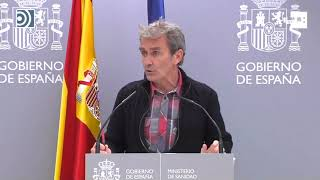 Simón sobre Madrid: