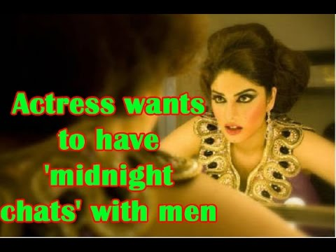 Actress Wants To Have 'midnight Chats' With Men - TOI