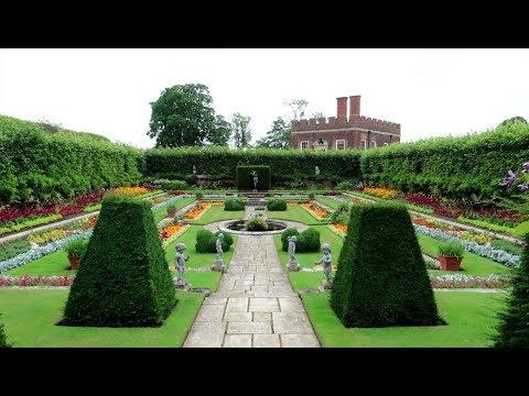 #1083 HENRY VIII Royal Gardens - HAMPTON COURT PALACE - Jordan The Lion Daily TRAVEL Vlog (7/25/19)