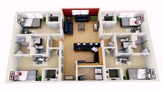 Simple Two Bedroom House Designs
