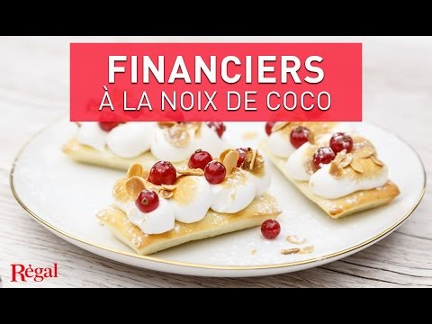 financier-noix-de-coco,-meringue-et-groseilles-|-regal.fr