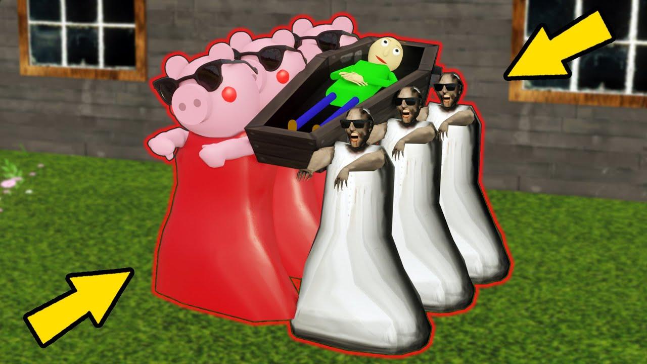 Granny vs Piggy vs Baldi - Coffin Dance Compilation - funny horror animation parody (p.39)