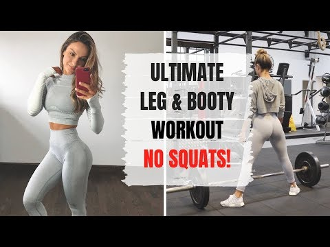 THE BEST LEG & BOOTY WORKOUT I'VE HAD! No Squats.