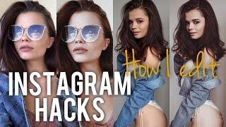 INSTAGRAM HACKS Jak przerabiam swoje zdjęcia?