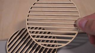 Boxford Projects - Wooden coasters