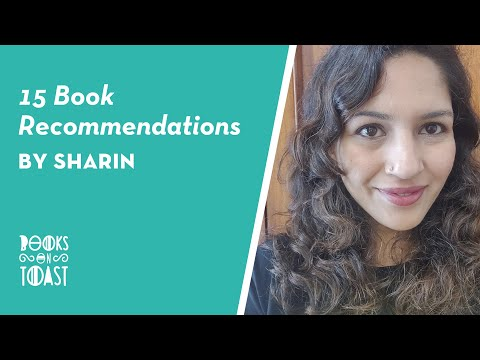 15 Book Recommendations that You Asked For by Sharin