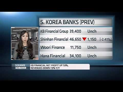 141027 CNBC ASIA - S. Korea Financials Q3  - 한국 금융주 3분기 실적 -  윤혜준 - June Yoon CNBC