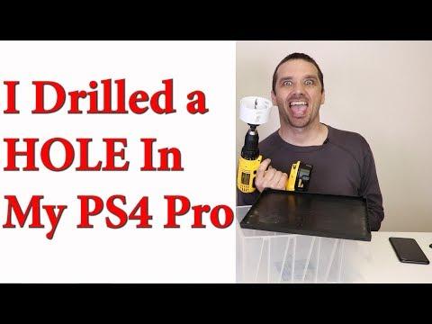 PS4 Pro Case Mod - Fan Noise Overheating Fix?