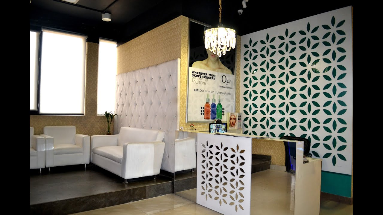 Beauty Salon Interior Design  Beauty Craze  Sector 62