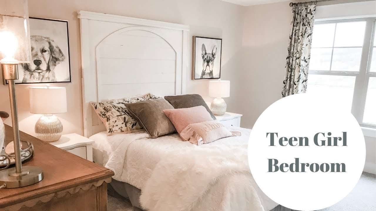 Teen Girl Bedroom|DIY Wall Decor - YouTube