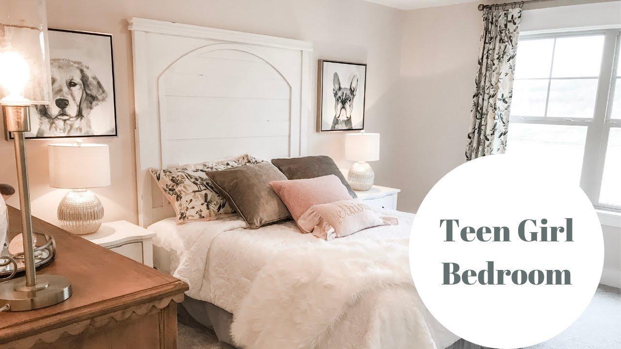 Teen Girl Bedroom|DIY Wall Decor - YouTube on Girls Room Decoration  id=78587