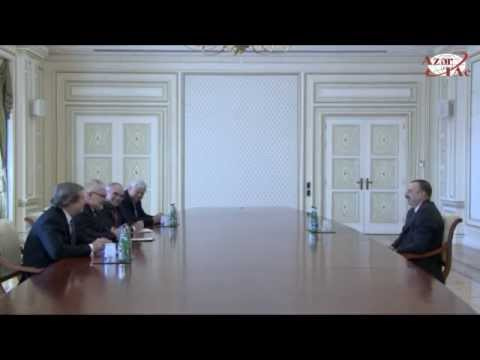 President receives OSCE Minsk Group co-chairs