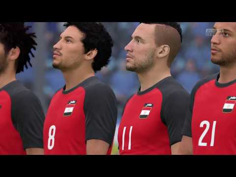 FIFA 18 | Egypt vs Uruguay | World Cup 2018 | Full Gameplay HD (PS4/Xbox One)