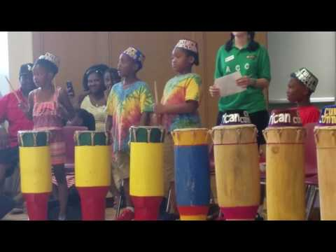 West African drums