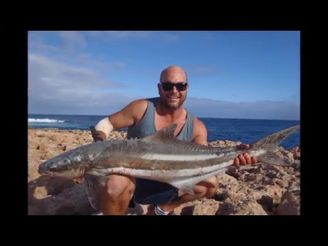 Cobia Fishing. Gas ballooning Dirk Hartog Island
