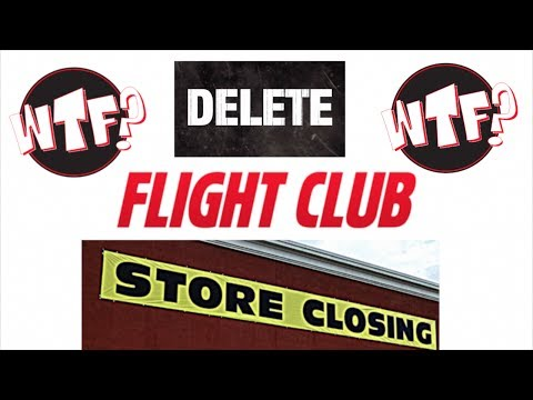 THE SLOW DEATH OF FLIGHT CLUB NEW YORK & WHERE DO U CONSIGN SHOES & YEEZYS AT NOW??