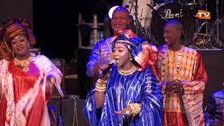 Nuit du bazin 2019: Revivez l'entrée spectaculaire de Djiby dramé et Maman Chérie