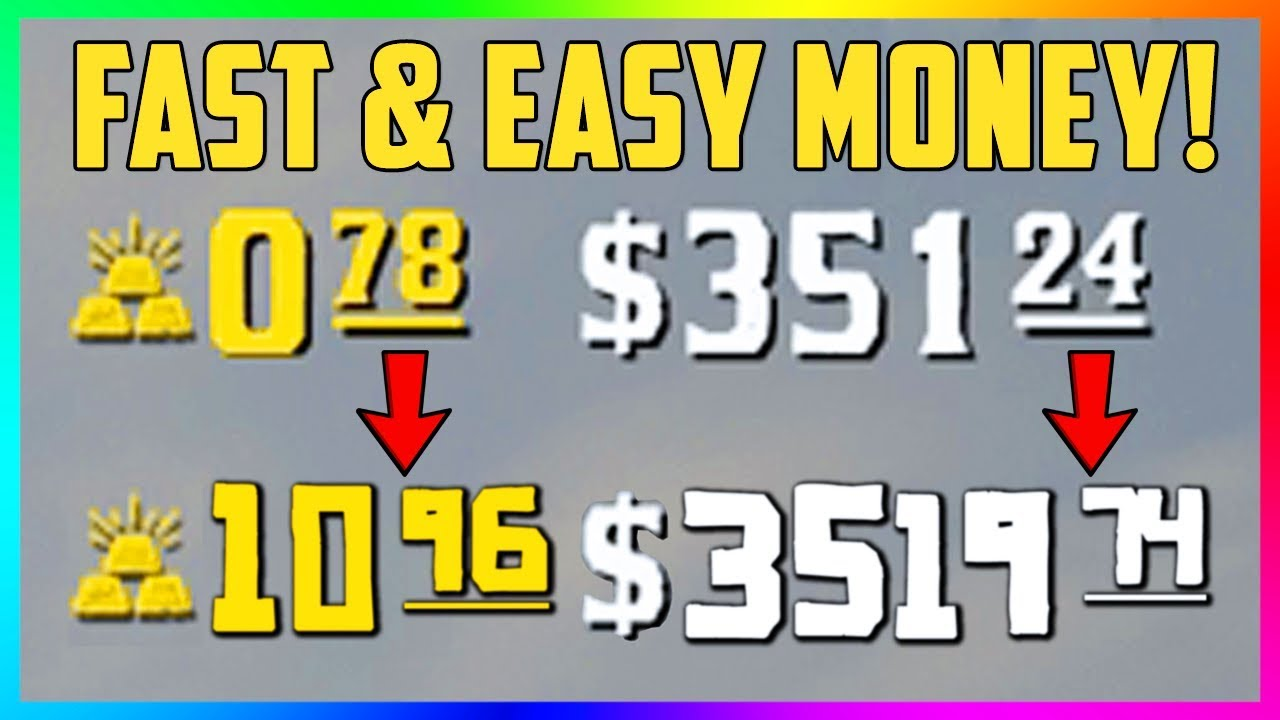 Red Dead Online - How To Make FAST & EASY Money! Beginner's Guide To Quickly Making Cash! (