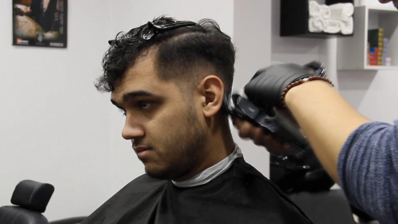 Transformare Par Cret Medium Fade Popular Mens Hairstylenew 2017
