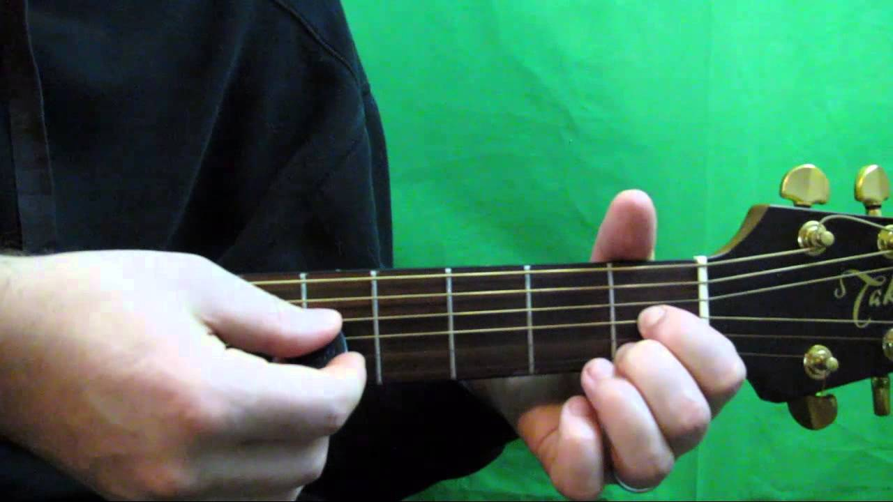How To Play An F Dim7 Chord On Guitar Youtube