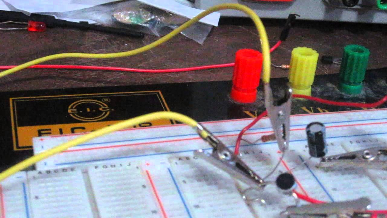 Electret Microphone Circuit Youtube Simple Audio Preamp Schematic Diagram