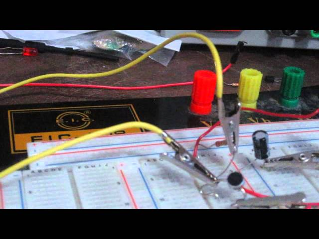 how to build an electret microphone circuit