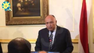 بالفيديو : وزير الخارجية : التحقيق فى حادث الواحات سيكون شاملاً ووافيًا