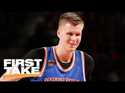 Stephen A., Max Outraged Over Knicks Possibly Trading Porzingis | First Take | June 20, 2017