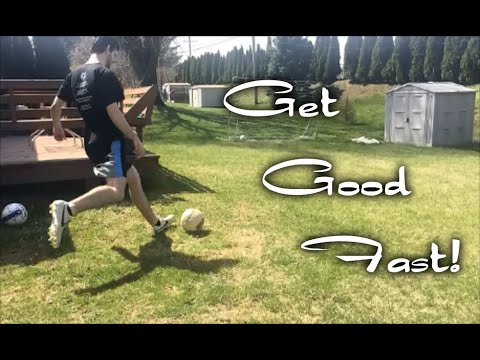 how to become good at soccer fast