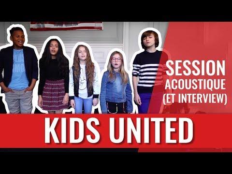 Les Kids United papotent en vidéo, font des blagues... et chantent bien sûr !