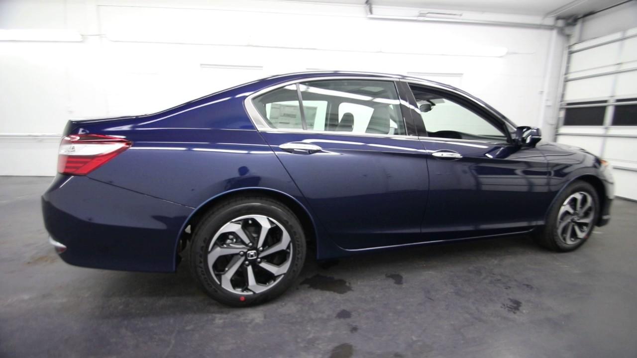 Honda Of Seattle >> 2017 Honda Accord EX-L V6 | Obsidian Blue | HA028813 | Seattle | Burien | Renton | - YouTube