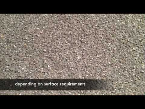 Surfacing - Alsan RS Quartz and Color Finish Instructional Video