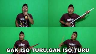 Lagu Baru BAYU SKAK - GAK ISO TURU - Cover - HELMY NEWTRON