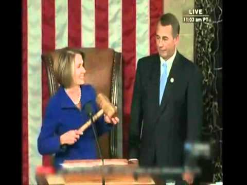 112th Congress: Passing of the Gavel.wmv