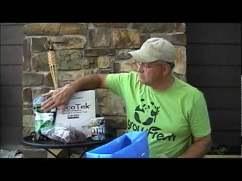 Cheap & Easy Grow Bag Setup, Online Source for Rock Dust Minerals & Trellis Clip Tomatoes