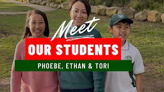 Meet Phoebe, her brother Ethan and mum Tori !