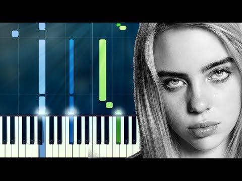 """Billie Eilish - """"Bored"""" Piano Tutorial - Chords - How To Play - Cover"""
