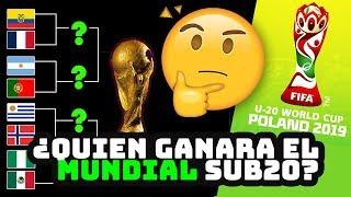 ¿Quien ganará el Mundial sub20 2019? Predicción