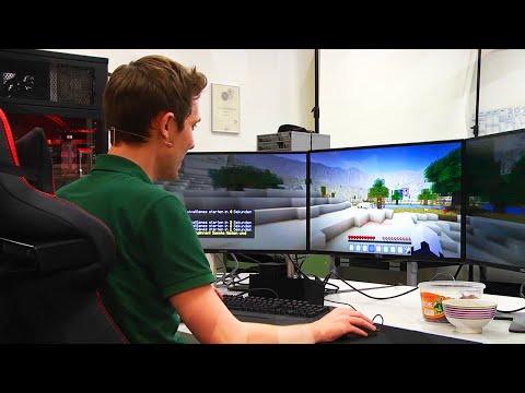 MINECRAFT AUF 36.000€ GAMING PC