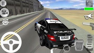 Jugando con Coche Policía - Mercedes S65 Simulador - Juegos de Carros