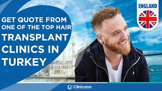 Hair Transplant Turkey | England UK Reviews | Clinicana