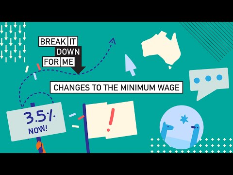 Break it down for me: changes to the minimum wage