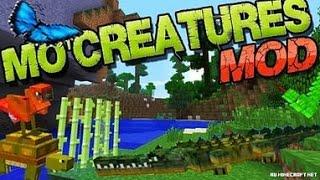 Обзор Модов Майнкрафт (MoCreatures) Куча новых животных